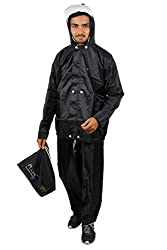 Lotus Stylish Plus Economy Mens Rain Suit (Reversible) (Free Size)