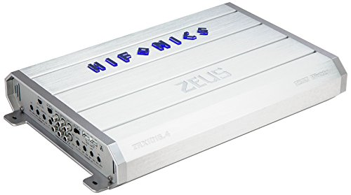 Hifonics ZRX1016.4 Zeus Car Audio Amplifier, 4-Channel 1000-Watt (Hifonics Zeus 1000 Watt Amp compare prices)
