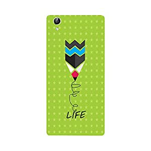 Phone Candy Designer Back Cover with direct 3D sublimation printing for Vivo Y51L