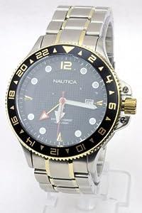 Nautica N24520G - Reloj de pulsera hombre, color plateado