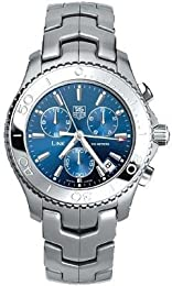 TAG Heuer Men s CJ1112 BA0576 Link Quartz Chronograph Watch