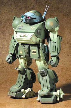 装甲騎兵ボトムズ 1/18スコープドッグ withミクロアクション キリコ・キュービー DMZ-01