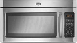 Maytag : MMV5201DS 2.0 cu. ft. Combination Range Hood-Microwave 1100 Watts - Stainless