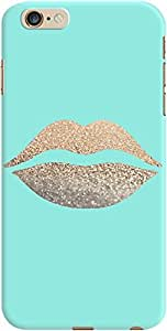 DailyObjects Gatsby Gold Lips Mint Case For iPhone 6 Plus