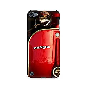 High Quality Printed Cover Case for Apple IPOD TOUCH 5 Model - Vespa