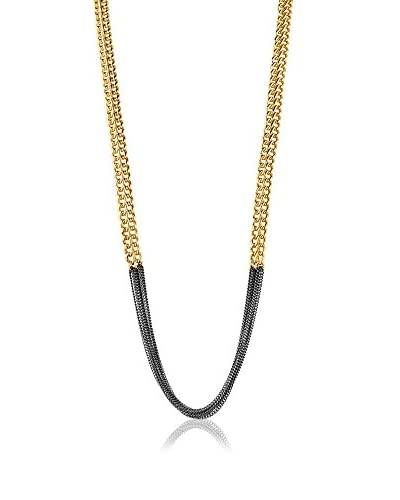 Dyrberg/Kern Collar Perri Sg Gun Metal Dorado