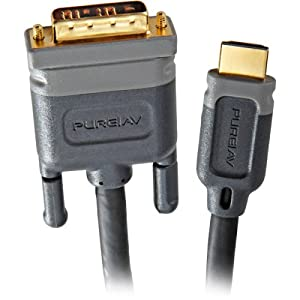 Belkin PureAV AV22400-06 6-Foot HDMI-to-DVI Video Cable (Discontinued by Manufacturer) from Belkin Components