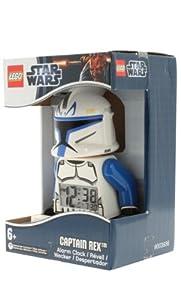 Lego Kids 9003936 Captain Rex Mini Figure Clock from LEGO