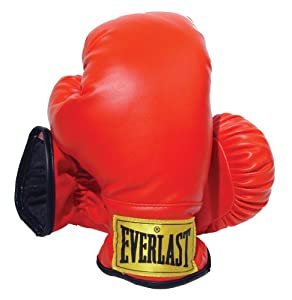 Everlast Youth Boxing Gloves (Red, Small)