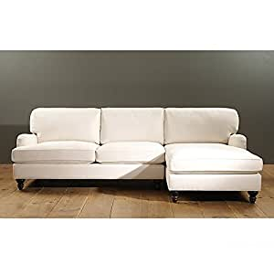 Eton 2 piece sectional with left arm for Amazon sectional sofa with chaise