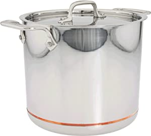 All-Clad 6507 SS Copper Core 5-Ply Bonded Dishwasher Safe 7-Quart Stockpot Cookware,... by All Clad
