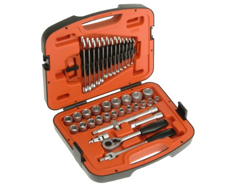 Bahco  Socket Set 40Pc 1/2In Dr + 2477 Toolbox