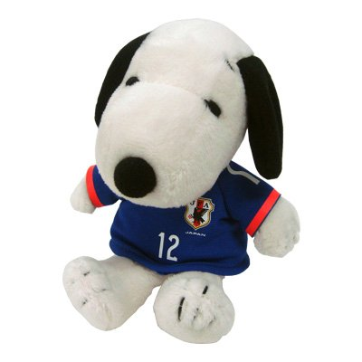 Mascota Snoopy fútbol Japón selección modelo 182861