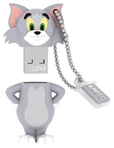 EMTEC Tom and Jerry 8 GB USB 2.0 Flash Drive, Tom