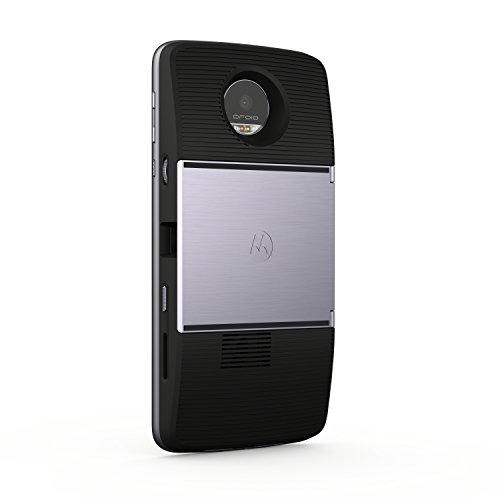 Moto Mod - Proyector Insta-Share (Tamaño de la imagen hasta 70'', brillo 50 lúmenes), color negro