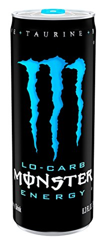 Monster Energy Drink, Lo-Carb, 8.3 Ounce (Pack of 24) (Low Carb Monster Energy Drink compare prices)