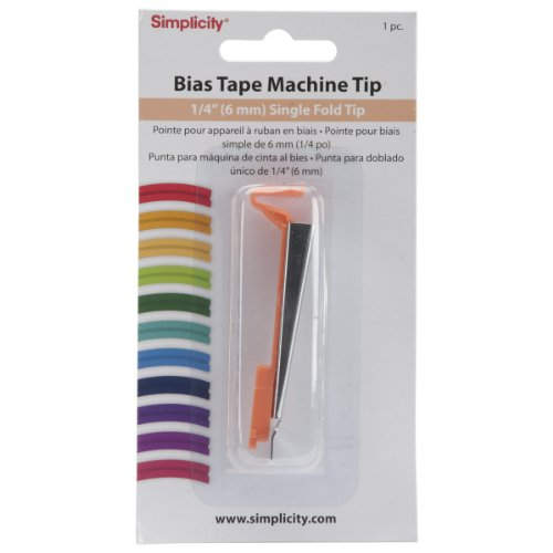 Buy Bargain Simplicity Bias Tape Maker 1/4 Single Fold Tip