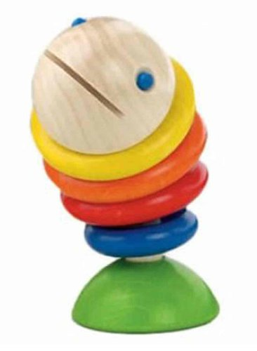 HABA Moby Wooden Fish Rattle (Made in Germany) (Fish Rattle compare prices)