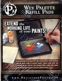 1 X P3 Wet Palette Refill Pads PIP 93109