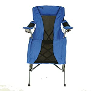 Amazon Com Outdoor Lounge Chair Fold Amp Go By Natural