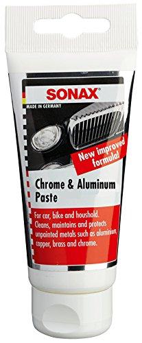 Sonax (308000) Chrome & Aluminum Paste - 2.5 oz. (Sonax Glass Polish compare prices)