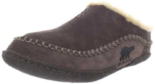 Sorel Men's Falcon Ridge NM1465 Slipper,Bark,10 M