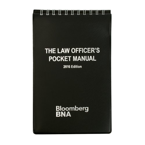 The Law Officer's Pocket Manual 2016