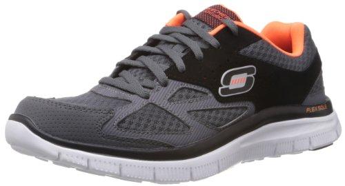 skechers-flex-advantage-master-plan-herren-sneakers-grau-ccbk-42-eu