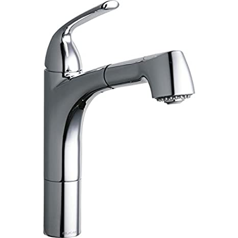 Elkay LKLFGT1041CR 1.5 GPM Pull-Out Kitchen Faucet, Chrome