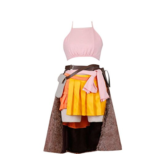 [Final Fantasy XIII Cosplay Costume -Vanille 1st Large] (Vanille Cosplay Costume)