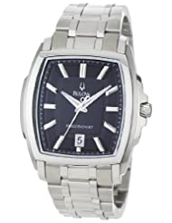 Bulova Men's 96B144 Precisionist Multi-Level Tonneau Case Watch