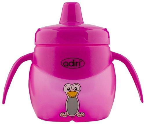Adiri Penguin Jr. Training Cup, Pink, 6.8 Ounce