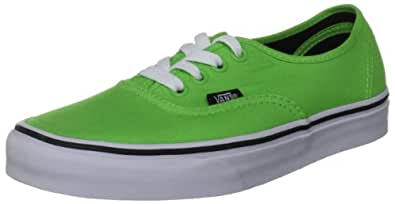 Vans Authentic - Color:Bright Geen/Black - Talla:36.5
