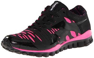 Reebok Women's RealFlex Fusion TR Cross-Training Shoe,Pink Ribbon/Black/Pink,5 M US