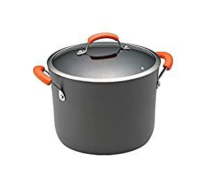Rachael Ray 10-qt. Hard-Anodized II Cookware Covered Stockpot