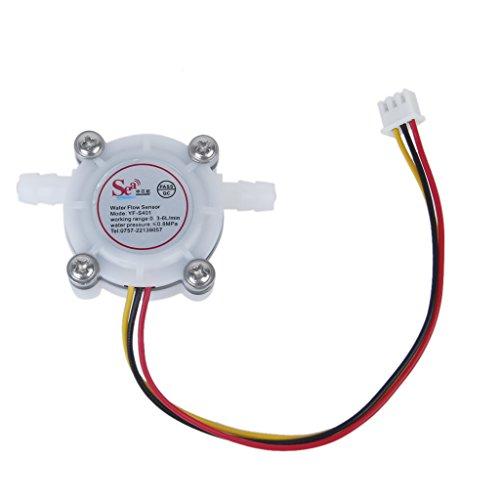 Wasserdurchfluss Sensor Schalter Meter Durchflussmesser Kaffeeautomat Gegen Fluid Steuer 0.3-6L/min