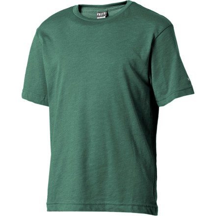 Volcom Solid Heather T-Shirt - Short-Sleeve - Boys' Pine Heather, M