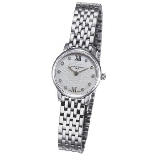 Reloj de pulsera de Mujer Frederique Constant XS Slimline Mini Analogo cuarzo acero inoxidable FC-200WHDS6B