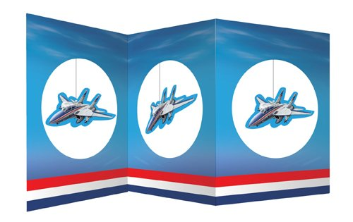 JET FIGHTER PLANE Stand-Up Airplane Party Table Centerpiece
