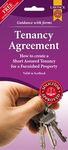 Furnished Tenancy Agreement Form Pack (Scotland)