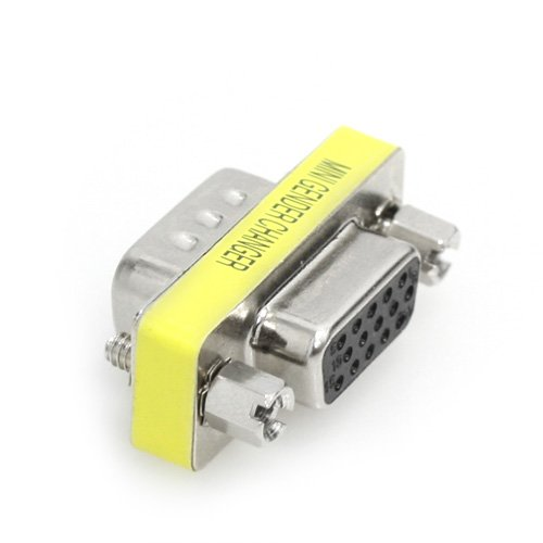 HD15 VGA M/F Mini Port Saver Adapter
