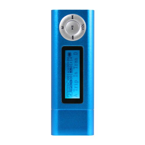 Hip Street HS-529-2GBBL 2 GB MP3 Player (Blue)