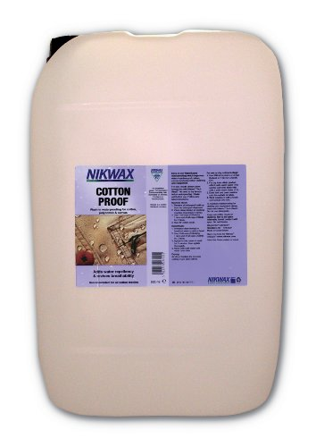 Nikwax Cotton Proof Waterproofer For Cotton/Canvas - 25lt