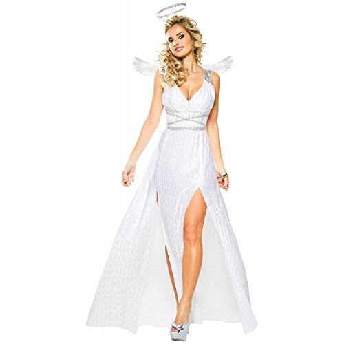 [GSG Greek Goddess Costume Adult Athena Halloween Fancy Dress] (Athena Adult Costumes)