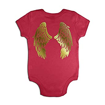 Golden Angel Costume Baby Grow