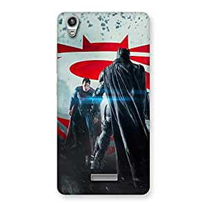 Stylish Day Vs Knight Front Multicolor Back Case Cover for Lava-Pixel-V1