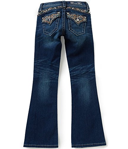 Miss Me Girls Big Girls size 10 Sweet Paris Embellished Pockets Bootcut Jeans