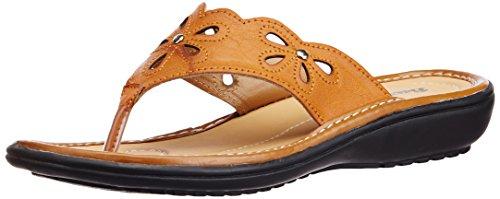Bata Women's Paris Tan Brown Fashion Sandals – 4 UK (5713266) image - Kerala Online Shopping