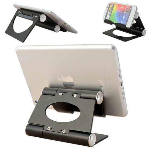 "No1accessory schwarz Multi-Angle-Luxus-Edelstahl poliert Ständer Desktop-Dock Dockingstation für Samsung Galaxy Note 8.0 Galaxy Fame GT S6810P Galaxy Mega GT I9205 Galaxy Pocket Neo GT S5310 Galaxy S4 Mini GT I9195 Galaxy S4 Active GT I9295 Galaxy S4 Zoom SM C101 Galaxy Young Galaxy Tab 3 8.0 Galaxy Tab 3 7.0 10.1"" ATIV Tab 3 ) S Pen 64GB Galaxy NOTE 3 Galaxy Tab 3 10.1 Galaxy Ace 3"