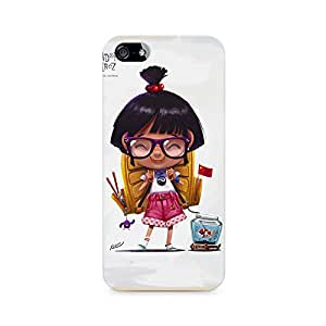 Mobicture Nauty Girkl Premium Printed Case For Apple iPhone 4/4s